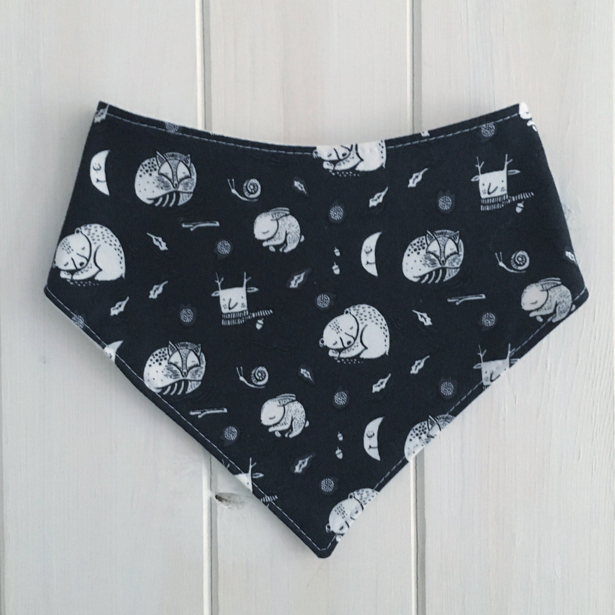 Furry Friends Bandana Bib