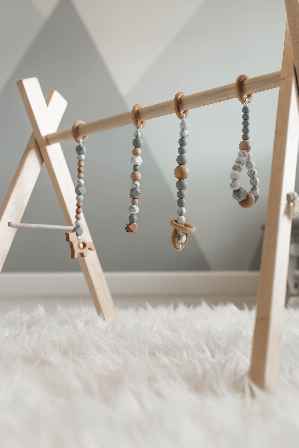 Custom Teething Jungle Gym + Accessories