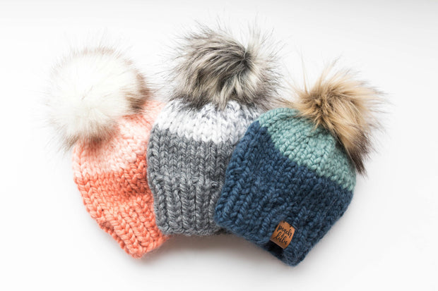 Custom Colour Block Toque