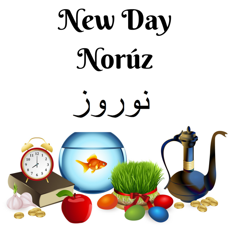 Persian New Year, Spring is coming (and so is autumn) and Haft Sín explained with Englisi Farsi