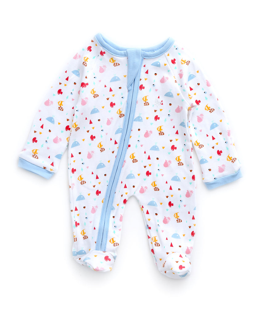 At The Beach - Sleeper Onesie