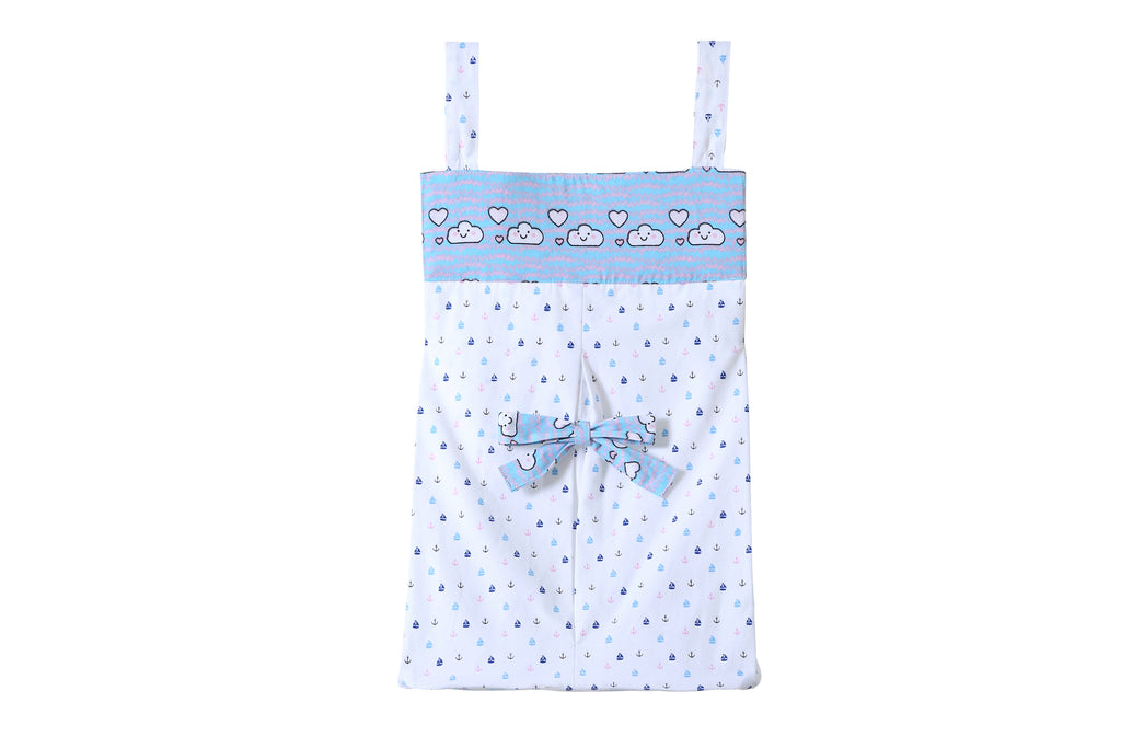 Cloudy Day - Diaper Stacker