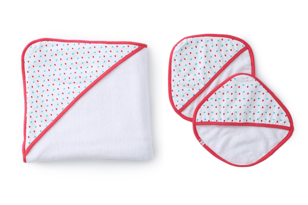 Dotty - Baby Towel Set