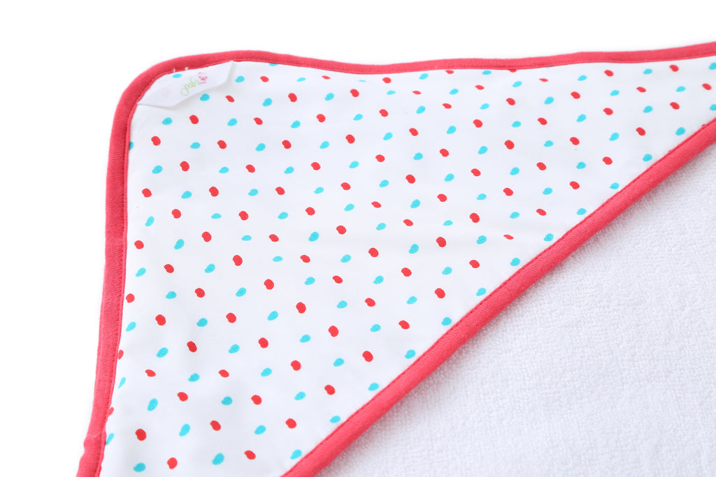 Dotty - Hooded Towel