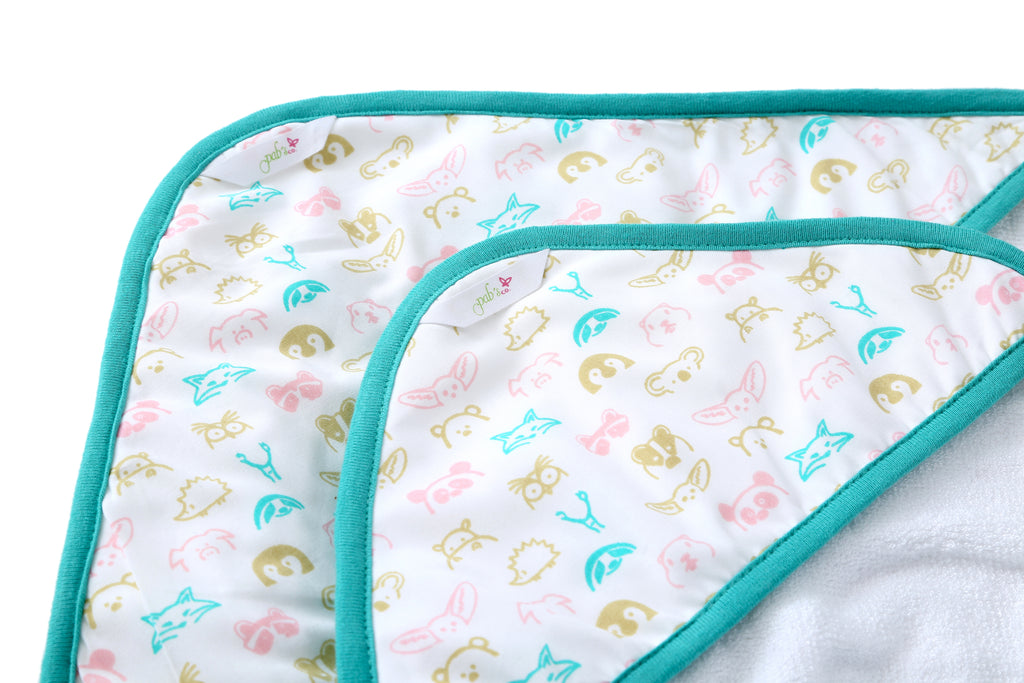 Forest Animals - Baby Towel Set