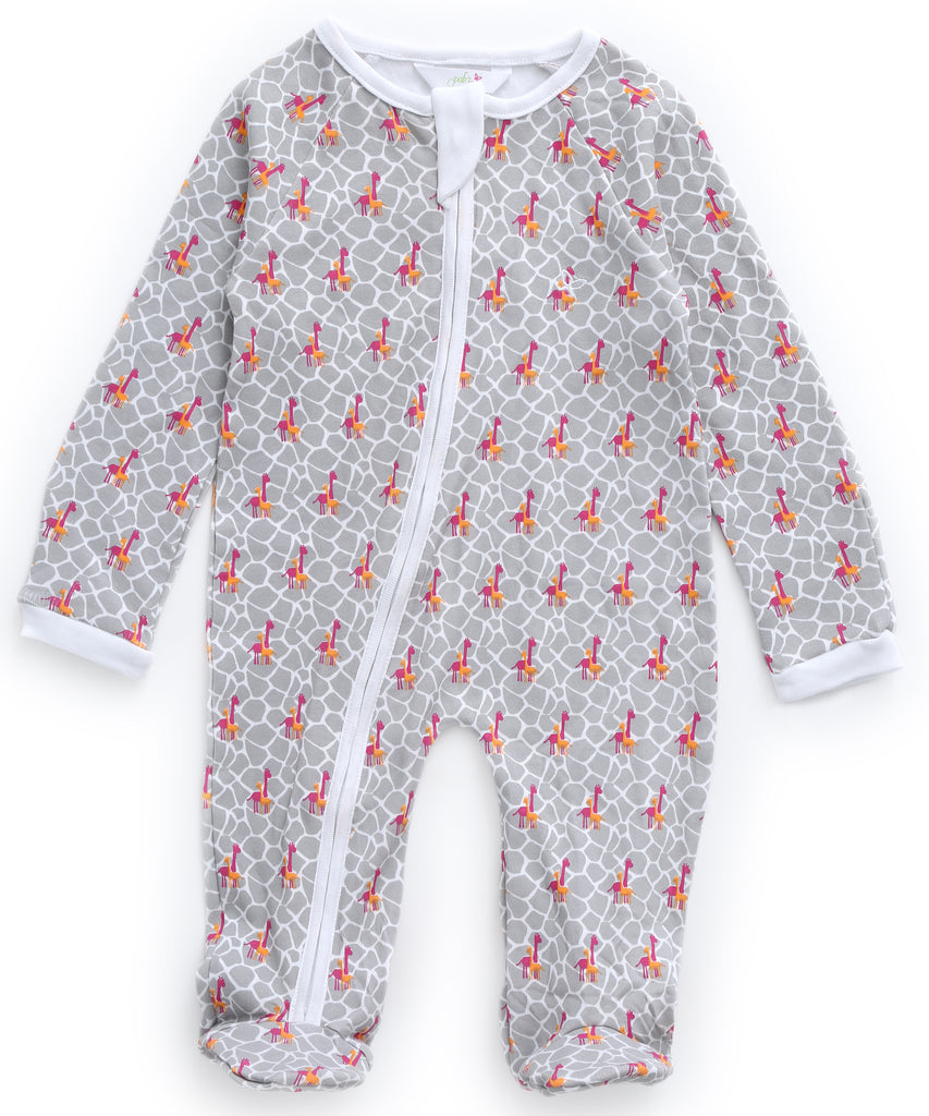 Giraffe Frenzy - Sleeper Onesie