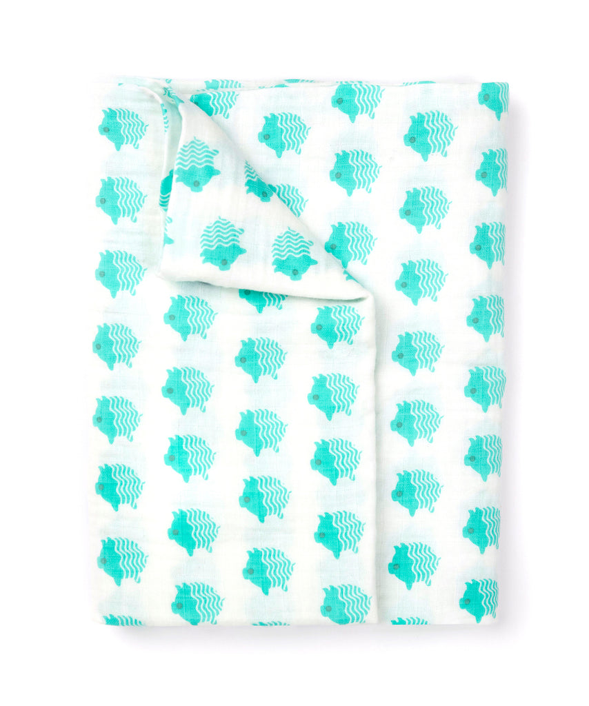 Little Piggy - Muslin Swaddle
