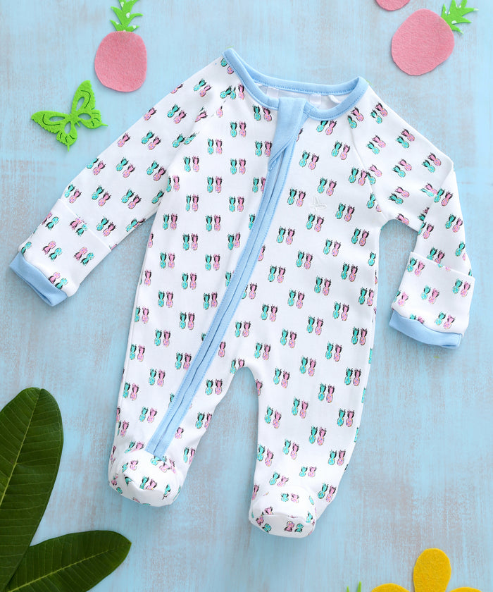 Pineapple Duo - Sleeper Onesie