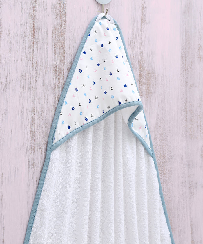 Sail Away - Hooded Towel