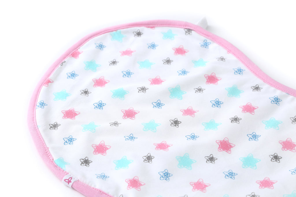 Starry Day - Bib & Burp Cloth
