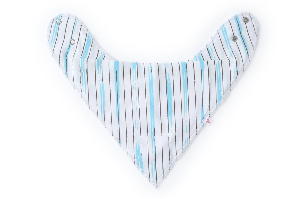 Raindrops - Bandana Bib Set