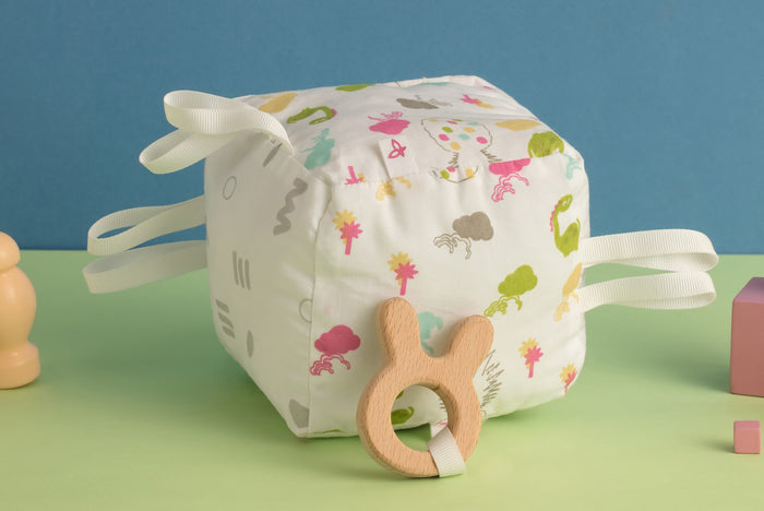 Dino Party - Teething Cube