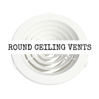 Round Ceiling Vents