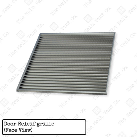 Door Relief Grille - The Melbourne Vent Company
