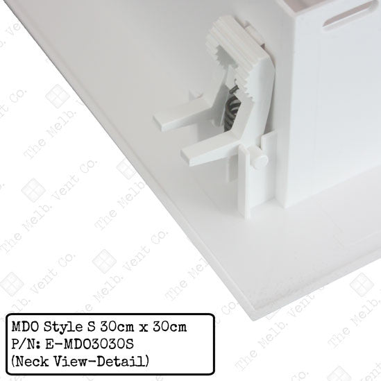 Multi Directional Outlet (MDO) - 30cm x 30cm - Style S