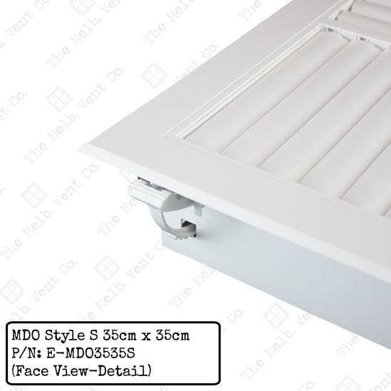 Multi Directional Outlet (MDO) - 35cm x 35cm - Style S - The Melbourne Vent Company