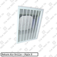 Return Air Grille - Plastic - Style H