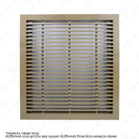 Return Air Grille - Heavy duty floor mounted