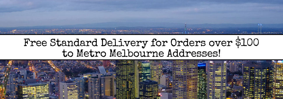 Free Delivery over $100