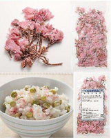 Sakura Flowers (salted) - Japanese Cherry Blossom Tea - Made in Japan
