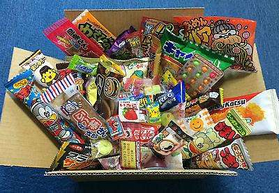Dagashi Variety Box Set - 40 Pieces - Japanese snacks (savory and sweet) sajapansales