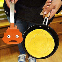 Calcifer Pan + 1 x Spatula, Studio Ghibli Howl's Moving Castle - From Japan sajapansales