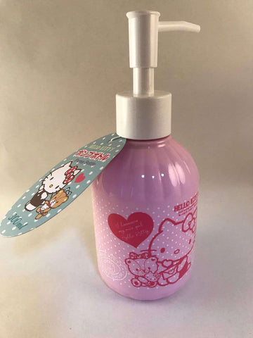Hello Kitty Hand Soap Dispenser - 300ml - Sanrio Japan - Kids Bottle sajapansales