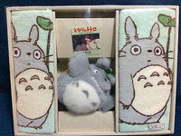 Totoro Towel & Toy Gift Box - Stuffed Toy/Plush + 2 Towels - Studio Ghibli Japan