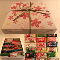 KitKat Variety Box Set - 21pc Sakura Gift Box Japanese Kit Kat - Japan Valentines Gift sajapansales