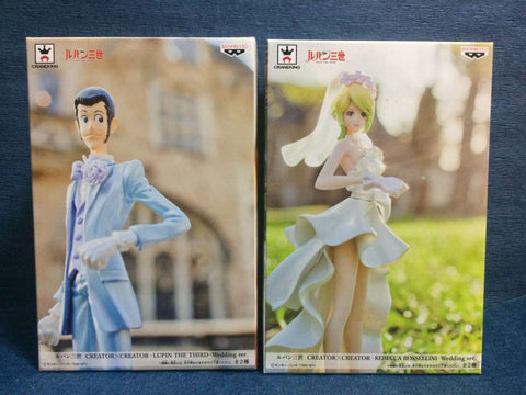 Lupin the Third Creator X Figures - Lupin & Rebecca Rossellini One Piece