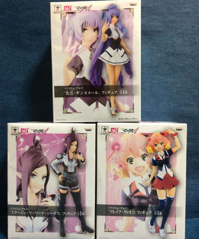 Complete Set Freyja , Mikumo & Mirage Official SQ Figures Banpresto Anime Japan sajapansales
