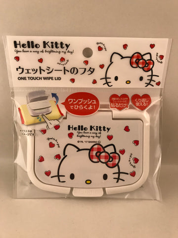 Hello Kitty Wet Wipes Easy Open Lid sajapansales