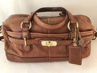 Brown Coach Shoulder Bag + certificate of authenticity + storage bag from Japan sajapansales