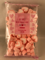 Japanese Strawberry Marshmallows - heart shaped sajapansales