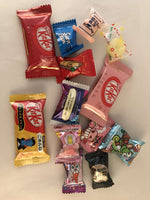 Candy & KitKat Variety Box Set - 13pc Japanese Christmas Unicorn Candy & Kit Kat Gift Set sajapansales