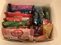 Variety Box Set - 35pc Japanese CHRISTMAS Sweets Gift Box (15 Kit Kat + 20 Candy)