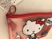 Hello Kitty Pencil Case / Stationery / Makeup Case - Sanrio Japan sajapansales