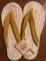 Japanese Slippers by Muji - Soft 97% Cotton Thongs - Indoor Shoes sajapansales