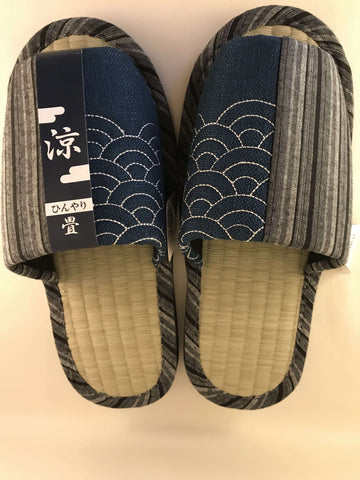 Japanese Slippers - For Men - with Tatami inner sole sajapansales