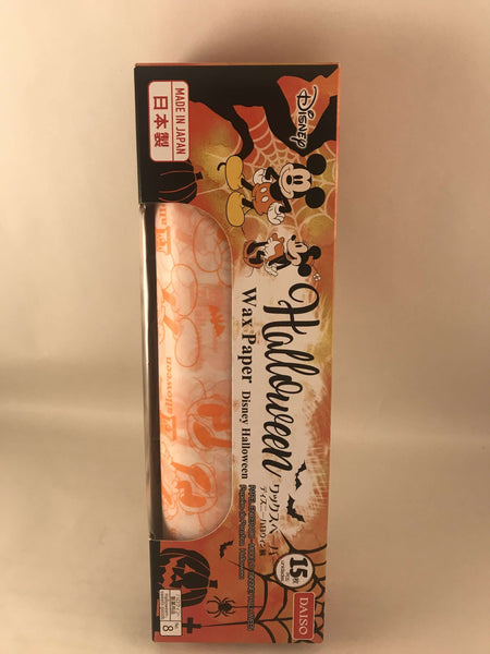 Japanese Mickey Mouse Disney Halloween Wax Paper - 1 roll (20 sheets) sajapansales
