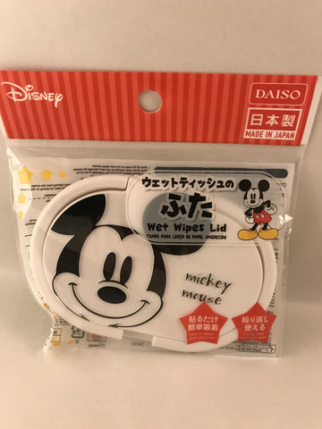 Mickey Mouse Wet Wipes Easy Open Lid