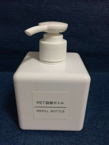 Japanese Refill Bottle 250ml Soap Dispenser - White sajapansales
