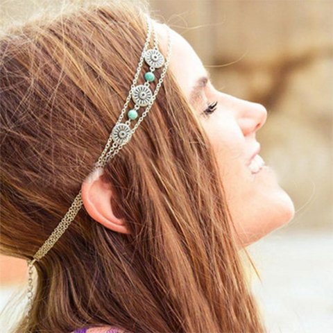 Multi layered Bohemian Hair Jewelry