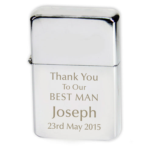 Personalised Wedding Lighter – A Perfect Wedding Favours & Gifts