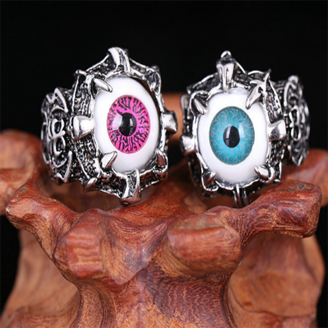 Titanium Steel Eyeball Ring