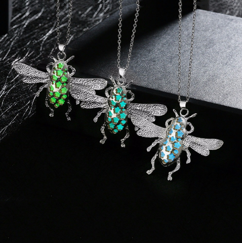 Glow in the dark Pendant - Animal & Insect Series