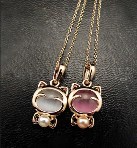 Cute Cat Chain Necklace