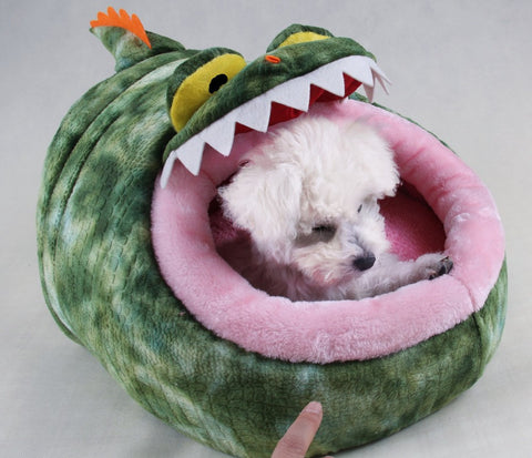 Croco & Dino Headed Pet Bed