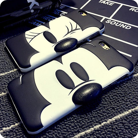 Cute Duck Mouse Case Cover For iPhone 6 6S