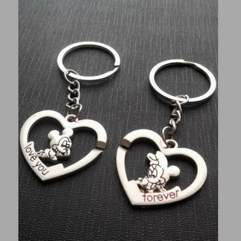 Heart Shaped Love Key Chain